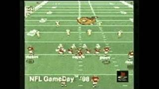 NFL GameDay 98 PlayStation Gameplay - NFLGD 98 Movie
