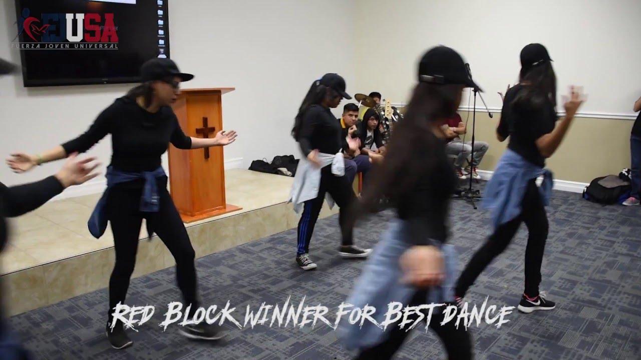 Red Block Winner of Best Dance FJU - all horror pictures