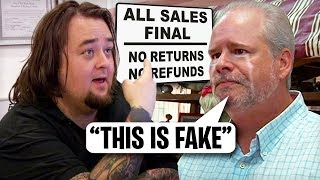 Pawn Stars Chumlee SCAMS THIS GUY!