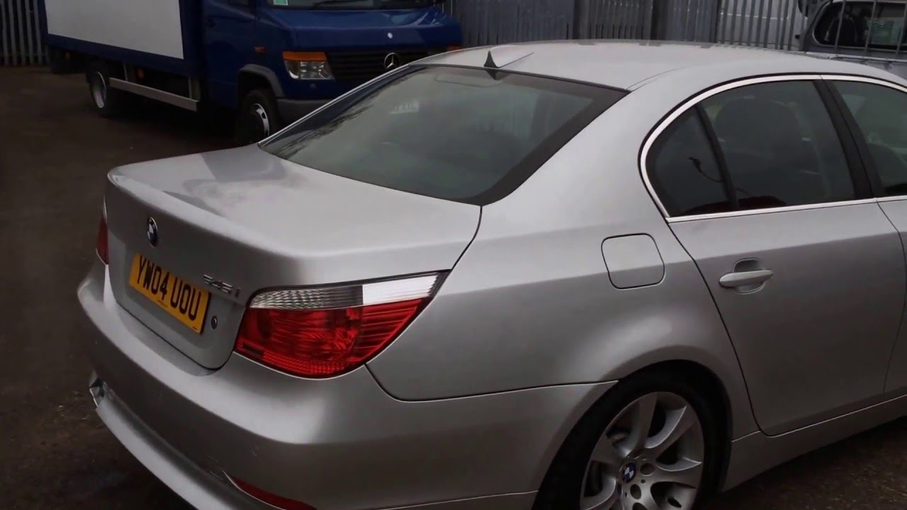 2004 Bmw 545i V8 Petrol Saloon Car Review Youtube