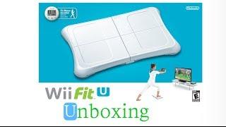 Wii Fit U Bundle Unboxing