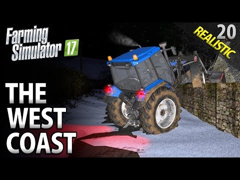 Let's Play Farming Simulator 17 | The West Coast | Episode 20