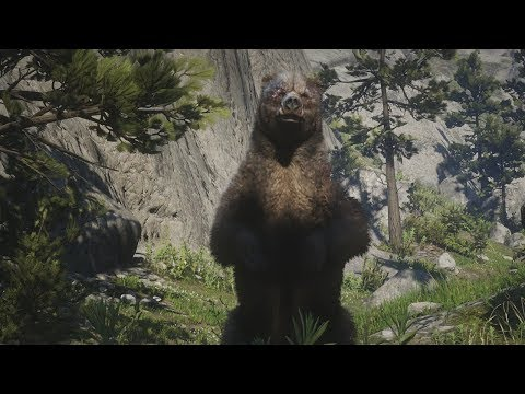 Red Dead Redemption 2 - Hunting A Bear With Hosea