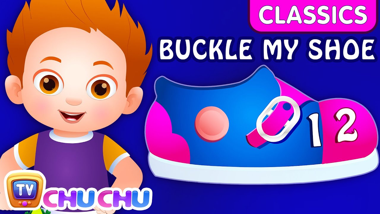 ChuChu TV Classics – One Two Buckle My Shoe | Nursery Rhymes and Kids Songs