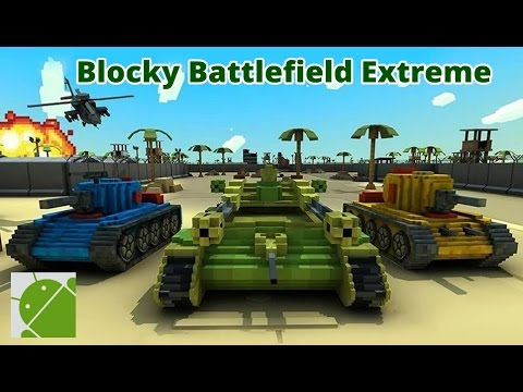 Blocky Battlefield Extreme - Android Gameplay HD