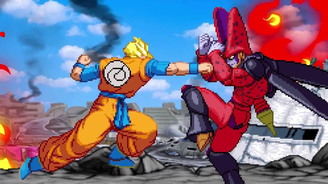 Dragonball Sprite Fight Wrath Of Cell Teaser Youtube