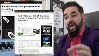Nintendo switch es la consola más VENDIDA en USA del Black Friday y Xbox One SAD se sale en España