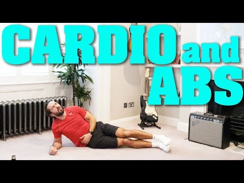 30 Minute Home CARDIO & ABS Workout | The Body Coach TV