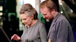 Carrie Fisher Tribute + THE LAST JEDI Behind The Scenes Footage - STAR WARS CELEBRATION (2017)