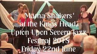 Mama Shakers at the Upton Jazz Festival 2018