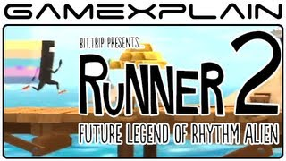 Bit.Trip Presents Runner 2 Game & Watch (Video Preview)