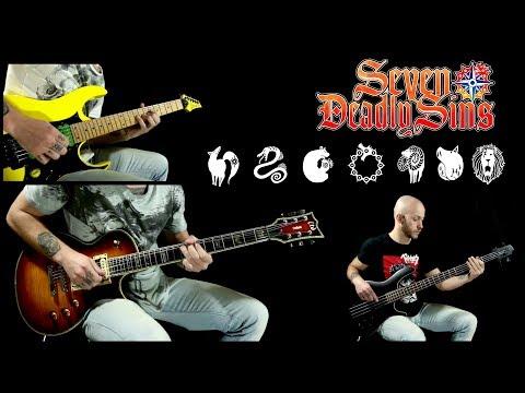 Nanatsu No Taizai (The Seven Deadly Sins) OP 1 / Netsujou No Spectrum - guitar cover