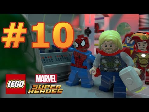 LEGO Marvel Super Heroes - Walkthrough - Level 10: That Sinking Feeling