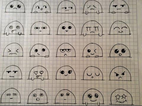 Рисунки для срисовки прикольные