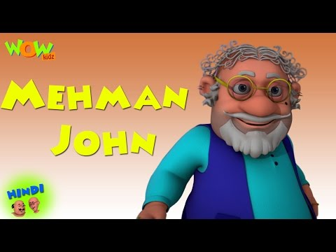 Mehman John - Motu Patlu in Hindi - 3D...