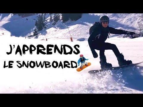 Apprendre à Faire Du Snowboard - En -4 Jours - Sans L'aide D'un Moniteur - La Clusaz