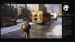 The Division, Part Thirty Eight, PS4 Live Broadcast, No Commentary, Walkthrough