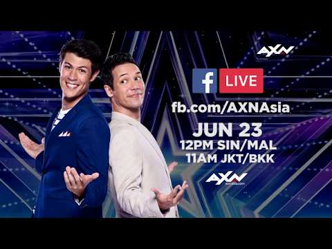 Join Alan and Justin in Singapore! | Asia's Got Talent 2018