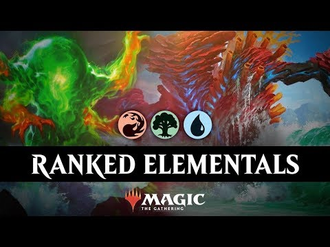 RANKING UP With TEMUR ELEMENTALS In MTG Arena