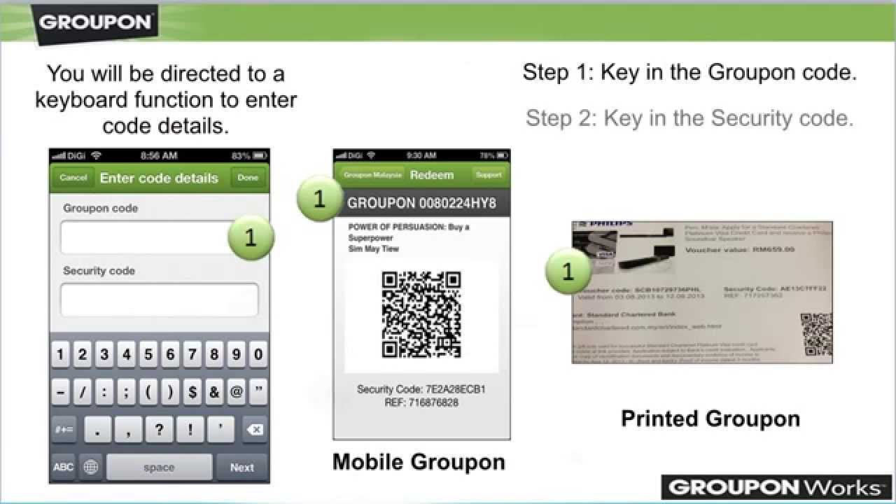 Groupon Mobile App Tutorial