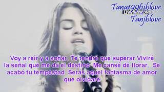 Selena Gomez & The Scene - Fantasma De Amor [Music Video By Tana][Letra][Nelena//Justlena]