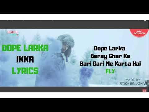 Dope Ladka | Ikka | Dr Zeus | Lyrics