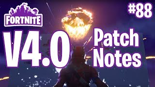 Patch Notes V4.0 | Brace For Impact, neue Missionen, neue Helden, freie Lamas | Fortnite #88