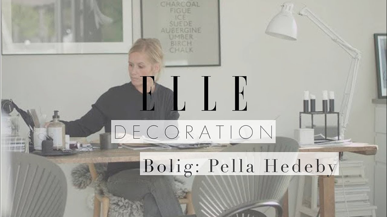 Hjemme Hos Interiørbloggeren Pella Hedeby Elle