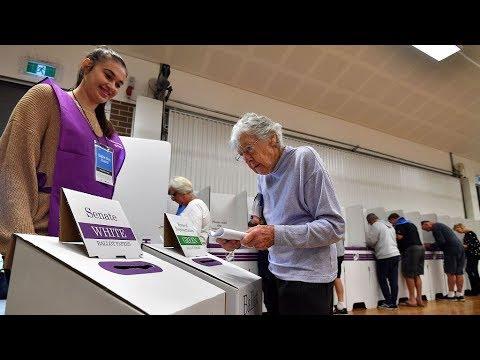 Polls Open In 2019 Australia Election