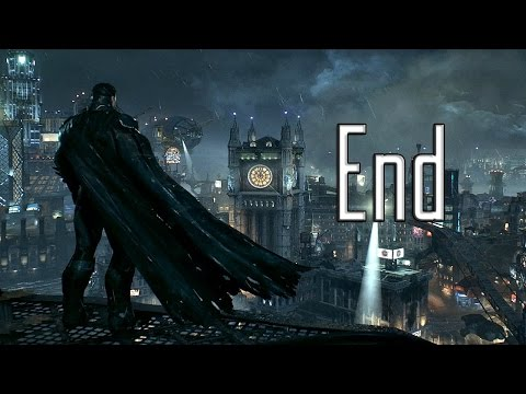 Batman: Arkham Knight - Ending (Knightfall Protocol / Review / Wayne Manor)