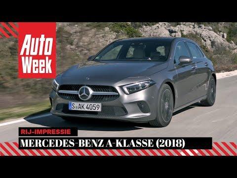 Mercedes-Benz A-Klasse - AutoWeek Rij-impressie