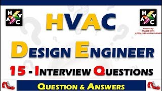 HVAC Design Engineer Interview Question & Answers.