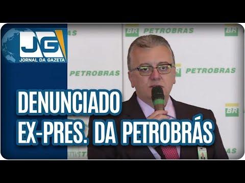 Denunciado ex-pres. da Petrobras