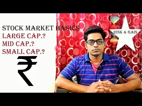 #3 Stock Market Basics for beginners in hindi- Understand Large Cap, Mid Cap & Small Cap. in Hindi