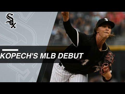 Kopech K's 4 over 2 scoreless innings in MLB debut
