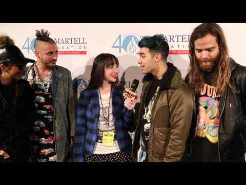 """DNCE Interview w/PAVLINA Talk their style & New song """"Cake By The Ocean"""" Joe Jonas"""