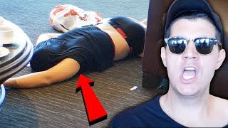 One of Christian Delgrosso 2's most viewed videos: MAN BROKE INTO MY HOTEL ROOM! (LIVE FOOTAGE)