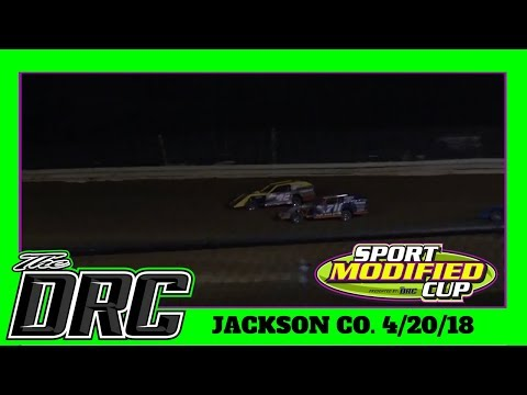 Jackson County Speedway | 4/20/18 | Sport Mods