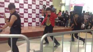 mona lisa y mblaq 엠블랙 dance cover evento k pop rythm per