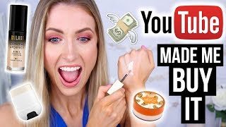YouTube Made Me Buy It || What Worked & What DIDN