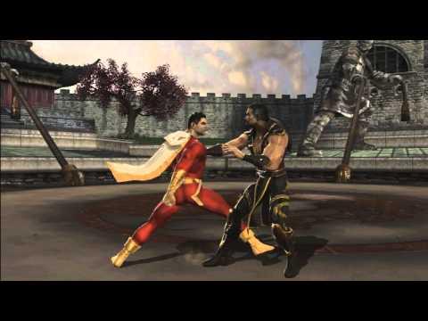 Mortal Kombat Vs DC Universe - Super Moves & Pro-Moves