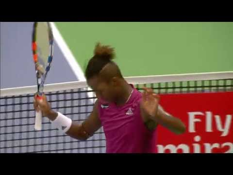 If Stockholm Open, Mikael Ymer Match Point vs Fernando Verdasco.  Oct 18, 2016