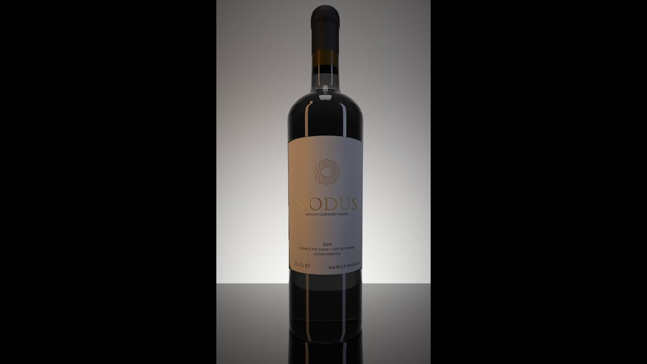 Mental ray studio render tutorial 3ds max wine bottle for Wine bottle material