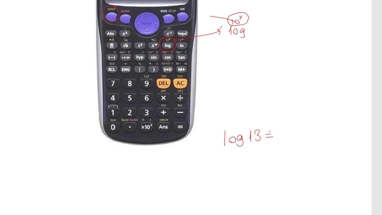 Hesap Makinesi İle Logaritma Hesaplama (Geometrik Ortalama)