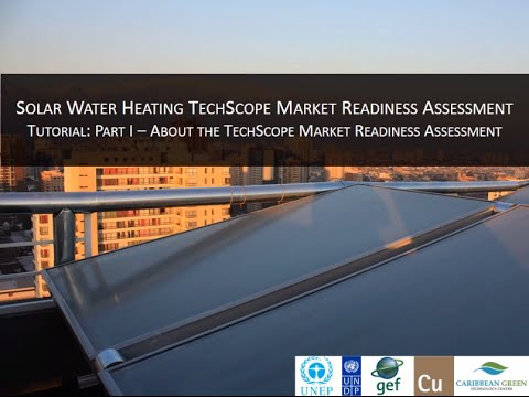 Solar Water Heating TechScope Online Tutorial - Part 1 About TechScope Assessment