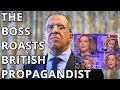 EXCLUSIVE  FULL   UNEDITED Interview Of Lavrov To British Channel 4