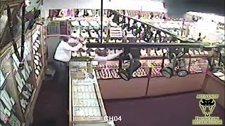 Jewelry Store Owners Repel Boarders With Cutlass and Acid | Active Self Protection