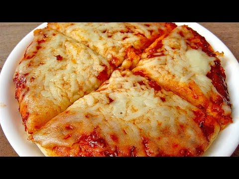 1 Minute Cheese Pizza Recipe by Sameer Goyal
