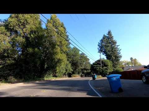 Drive through Montgomery Village, Brush Creek Rd, Santa Rosa, California
