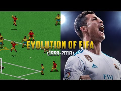 Graphical Evolution of FIFA (1993-2018)